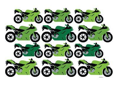 Green Ducati-Avalisa-Art Print