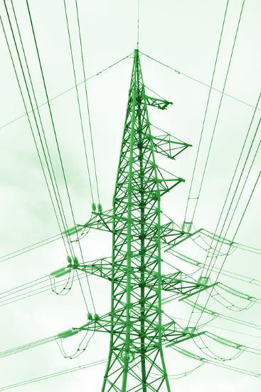 Green Energy Tower.-Vladislav Proshkin-Photographic Print