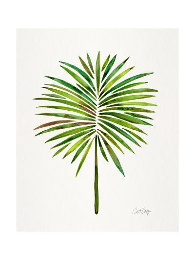 Green Fan Palm-Cat Coquillette-Giclee Print