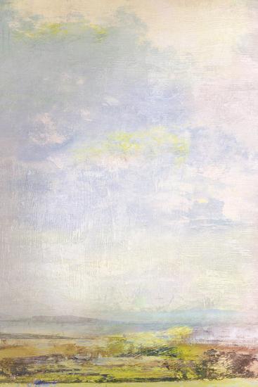 Green Fields Skyline-Paul Duncan-Giclee Print