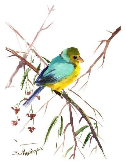 Green Finch-Suren Nersisyan-Art Print