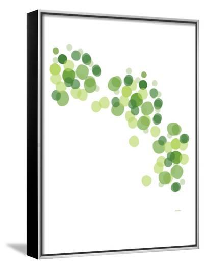 Green Float-Avalisa-Framed Canvas Print