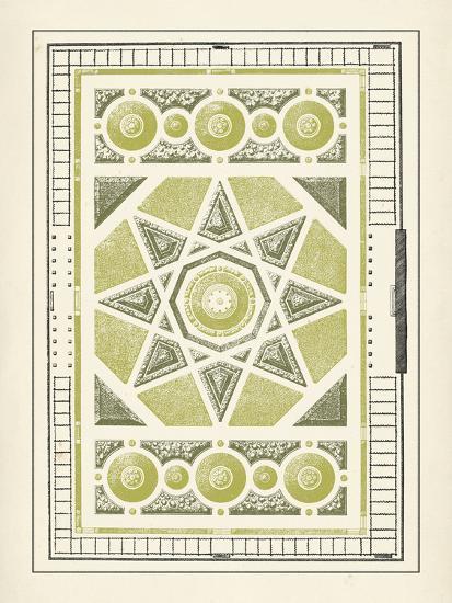 Green Garden Maze VI-J^F^ Blondel-Art Print