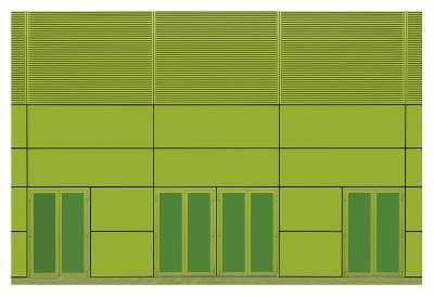 Green Home-Jan Niezen-Giclee Print