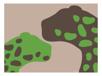Green Jaguars-Avalisa-Art Print