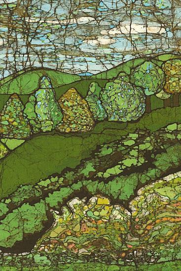 Green Landscape II-Andrea Davis-Art Print