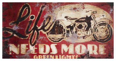 Green Lights-Rodney White-Giclee Print