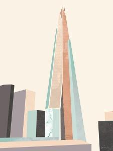 Graphic Pastel Architecture I by Green Lili