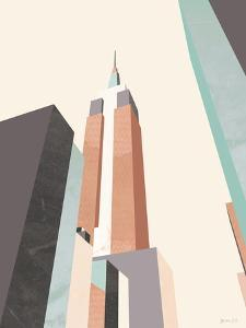 Graphic Pastel Architecture III by Green Lili