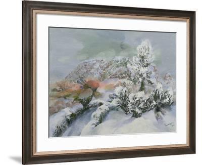Green Man at Cymyoy, 1996-Glyn Morgan-Framed Giclee Print