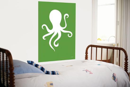 Green Octopus-Avalisa-Giant Art Print