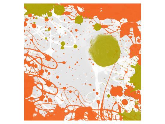 Green Orange Garden I-Irena Orlov-Art Print