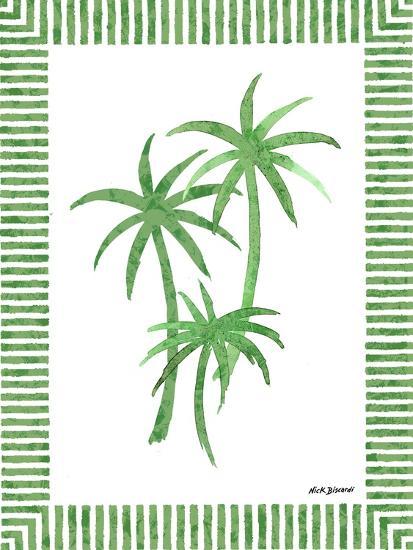 Green Palms III-Nicholas Biscardi-Art Print