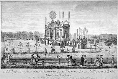 Green Park, Westminster, London, 1749-P Angier-Giclee Print