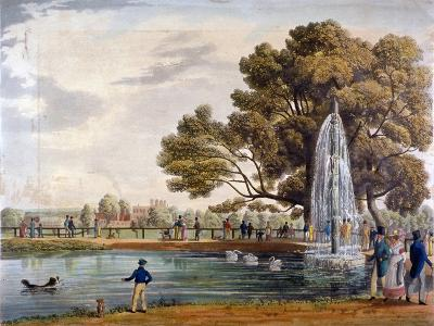 Green Park, Westminster, London, 1826--Giclee Print