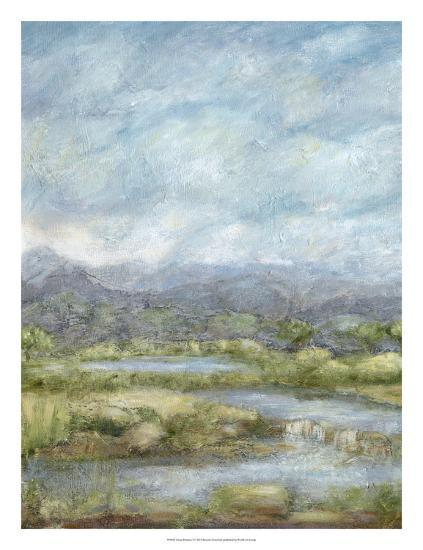 Green Pastures I-Beverly Crawford-Giclee Print