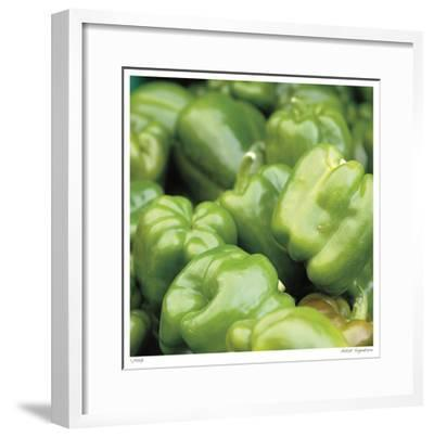 Green Peppers-Stacy Bass-Framed Giclee Print