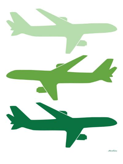 Green Planes-Avalisa-Art Print
