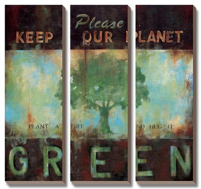 Green Planet-Wani Pasion-Canvas Art Set