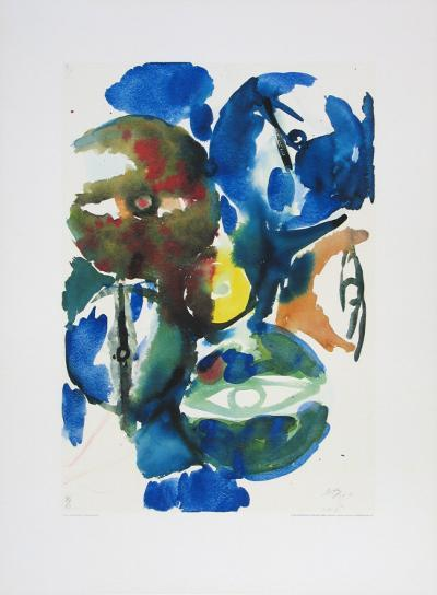 Green Predominating-Ernst  Wilhelm Nay-Collectable Print