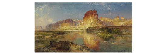 Green River of Wyoming, 1878-Moran-Giclee Print