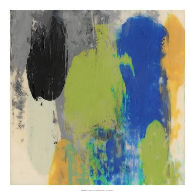 Green Schmear I-Julie Silver-Giclee Print