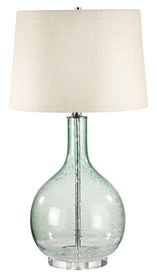 Green Seed Glass Table Lamp--Home Accessories