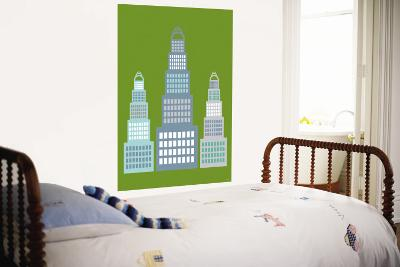Green Skyscraper-Avalisa-Wall Mural