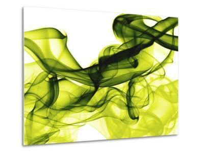 Green Smoke-GI ArtLab-Metal Print