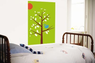 Green Songbird-Avalisa-Wall Mural