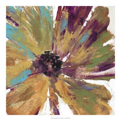 Green Splash II-Julie Silver-Giclee Print