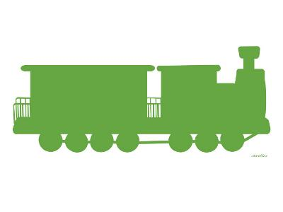 Green Train-Avalisa-Art Print