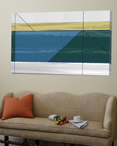 Green Triangle-NaxArt-Loft Art