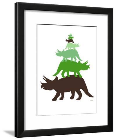 Green Tritop-Avalisa-Framed Art Print