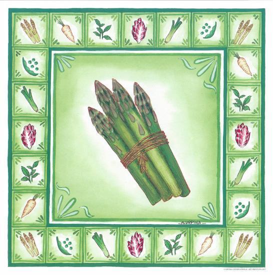 Green Veggies IV-Urpina-Art Print