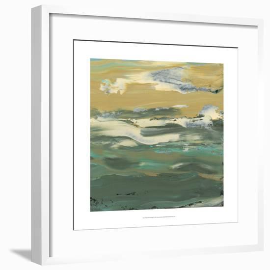 Green Water's Edge II-Alicia Ludwig-Framed Premium Giclee Print