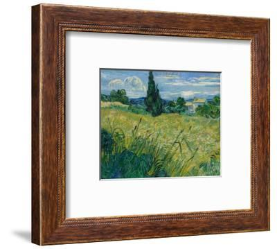 Green Wheat, 1889-Vincent van Gogh-Framed Premium Giclee Print
