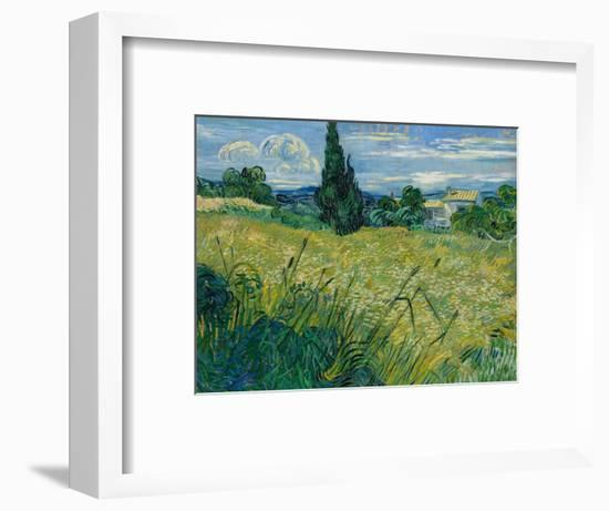 Green Wheat, 1889-Vincent van Gogh-Framed Giclee Print