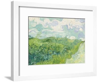 Green Wheat Fields, Auvers, 1890-Vincent van Gogh-Framed Giclee Print