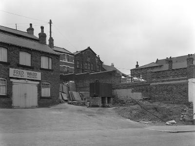 Greengrocers Warehouse Exterior, Mexborough, South Yorkshire, 1966-Michael Walters-Photographic Print