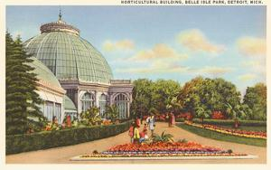Greenhouse, Belle Isle, Detroit, Michigan