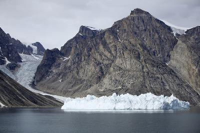 Greenland, Bjoren Oer, Receding Glacier-Aliscia Young-Photographic Print