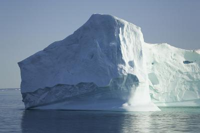 Greenland, Scoresby Sund, Large Floating Iceberg-Aliscia Young-Photographic Print
