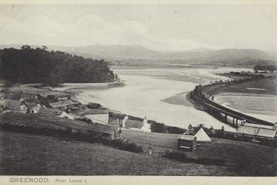 Greenodd and the River Leven, Lancashire--Photographic Print