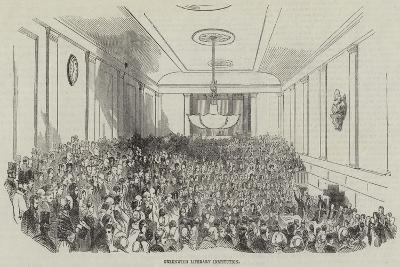 Greenwich Literary Institution--Giclee Print