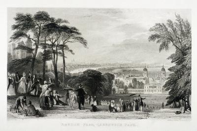 Greenwich Park, Greenwich, London, 1844-Thomas Abiel Prior-Giclee Print