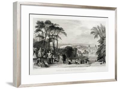 Greenwich Park, Greenwich, London, 1844-Thomas Abiel Prior-Framed Giclee Print