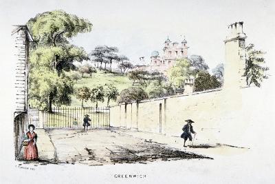 Greenwich Park, Greenwich, London, C1850-T Turner-Giclee Print
