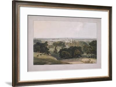 Greenwich Park, London, 1804-William Daniell-Framed Giclee Print