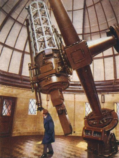 Greenwich's largest telescope, 1938-Unknown-Giclee Print